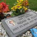 In Memory of Noah…please watch your children around cars
