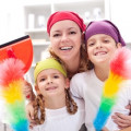 Teach Healthy Survival Skills by Getting Your Kids to Help Clean