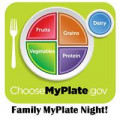 Family MyPlate Night: Where Kids Choose!