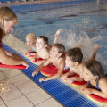 Summer + Kids = Swimming Lessons + Fun