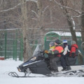 Caution! Beware of Snowmobiles with Kids. As Risky as ATV's