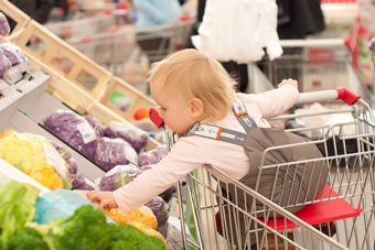 Keeping Your Food Allergic Child Safe At The Grocery Store